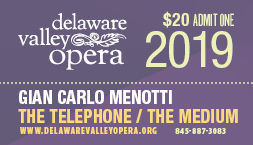 "Menotti ""The Telephone""and ""The Medium"""