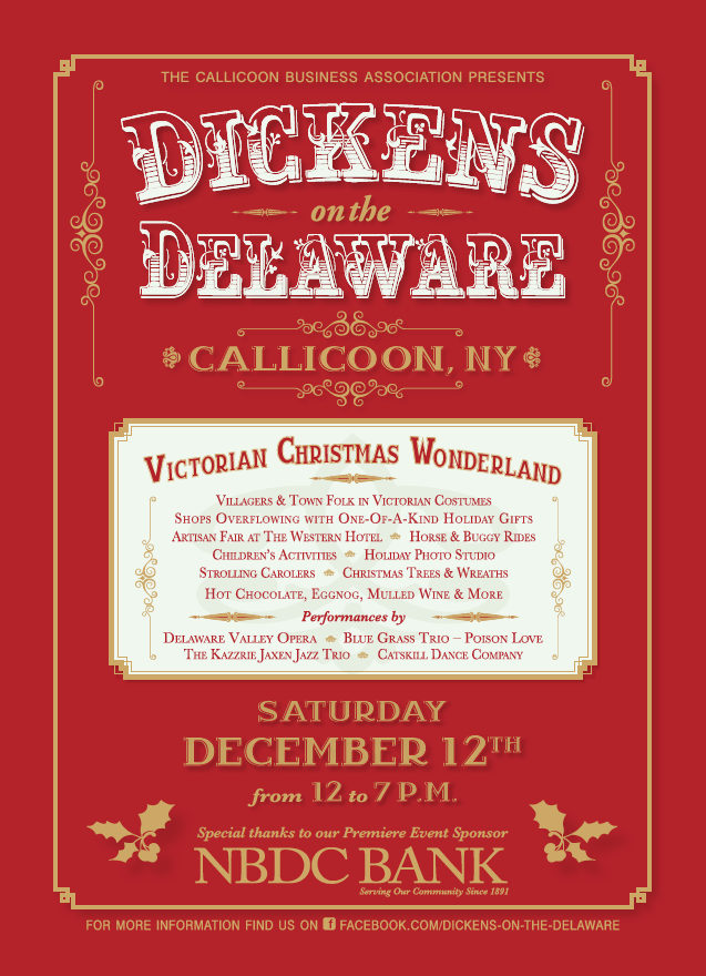 Dickens on the Delaware in Callicoon NY 2015
