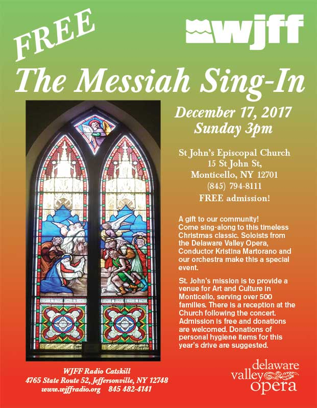 the Messiah Sing-Along 2017