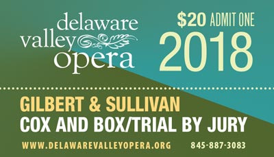 Delaware Valley Opera 2018 Ticket